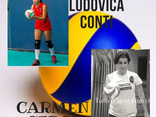 Volley Femminile: A tu per tu con Ludovica Conti e Carmen Sergi [VIDEO INTERVISTA]